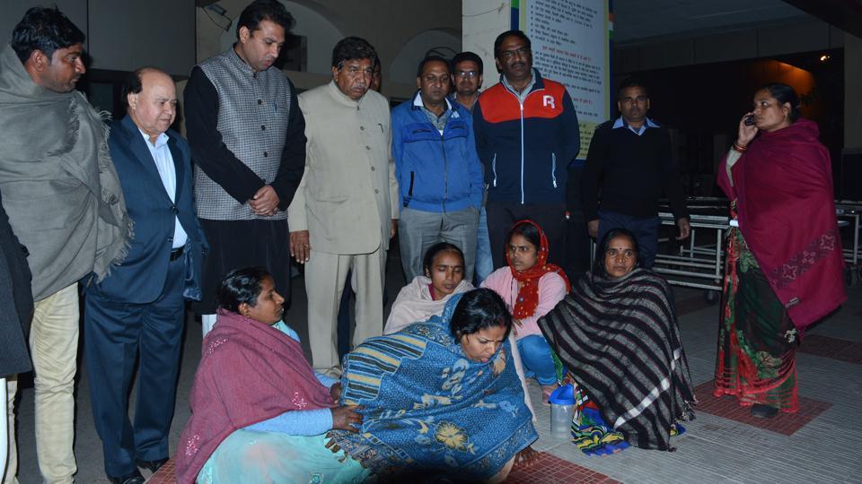 hospitalised,Panchkula,chlorine gas