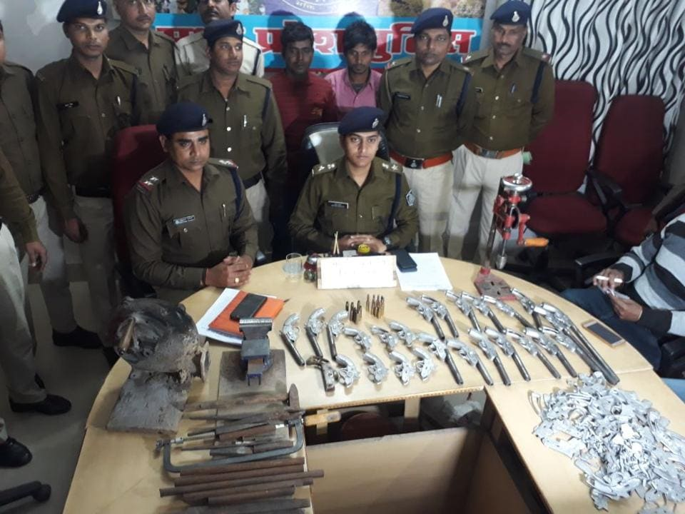 The police administration has launched a campaign against illegal arms in the area to curb crime in the area.