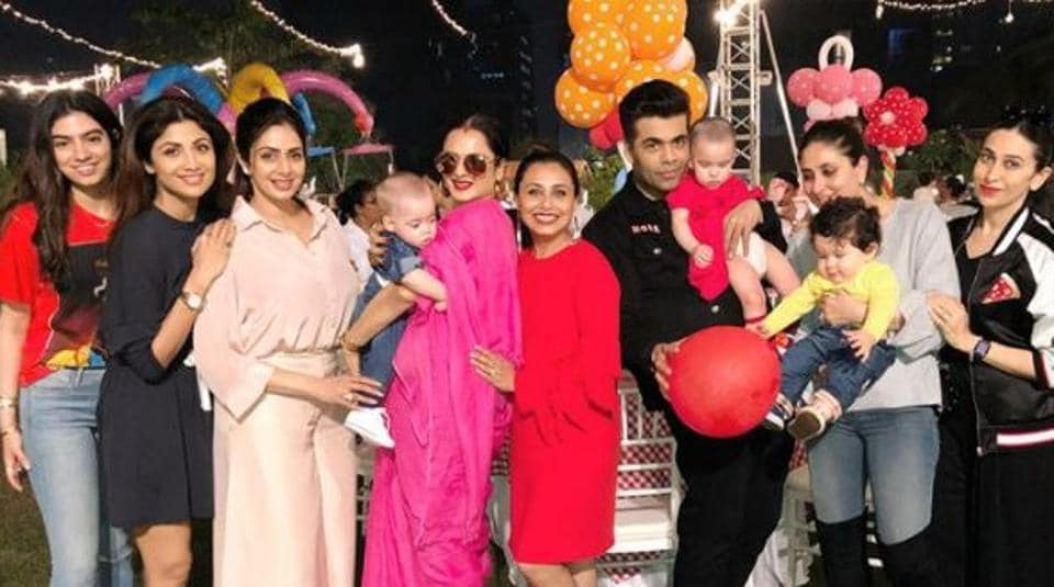 Rani Mukerji solves the mystery of why daughter Adira was missing from her own birthday party photos.