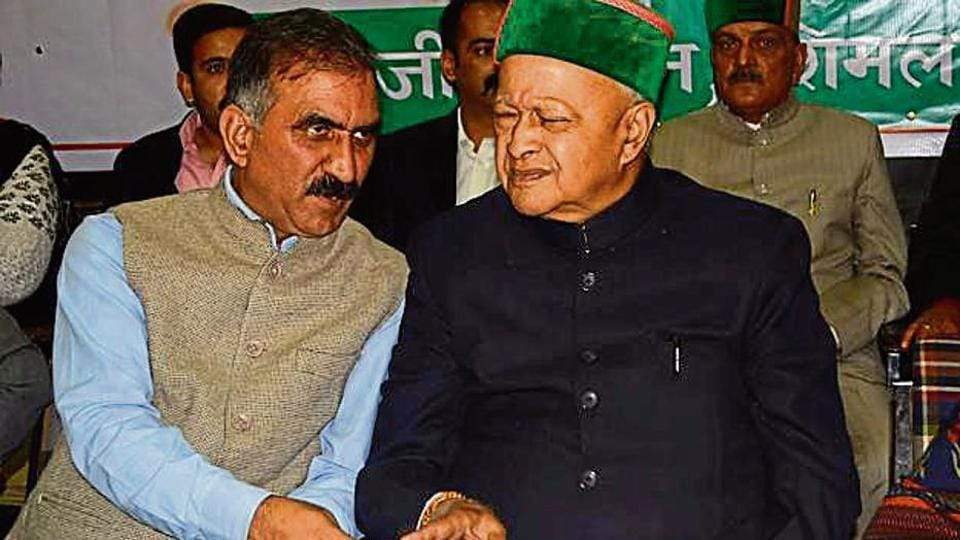 Virbhadra Singh's bitter factional feud with state Congress chief Sukhwinder Singh Sukhu shattered the party's united face.