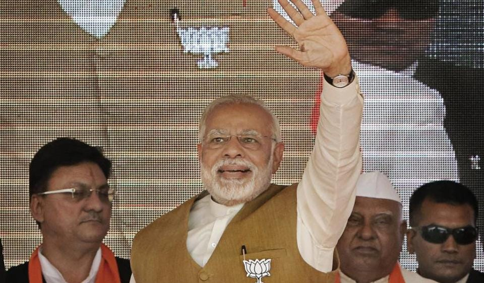 The Sena said no BJP leader, including PM Modi, ever spoke about development during campaigning; instead the BJP fell back on communal polarisation.