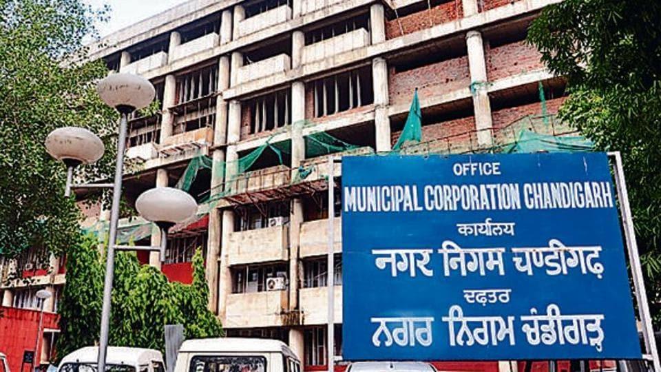 financial crisis,Chandigarh MC,construction works