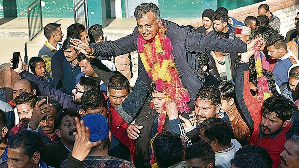 BJP,Himachal,PRem Kumar Dhumal loses