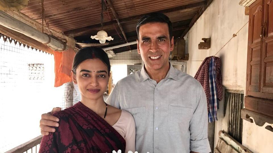 Actors Akshay Kumar and Radhika Apte-starrer PadMan is scheduled for a January release.