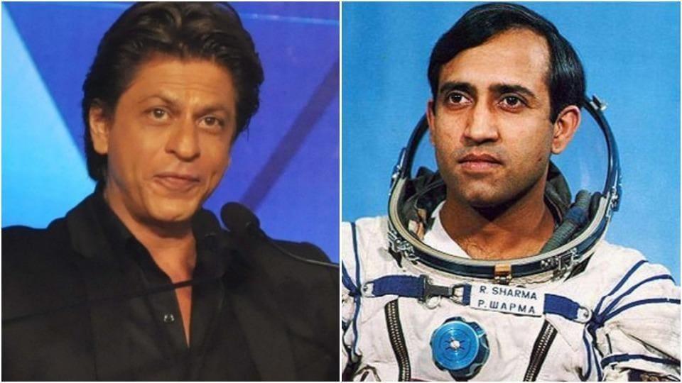 Aamir Khan persuaded Shah Rukh Khan to play Rakesh Sharma in his biopic.