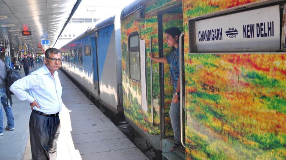 Lucknow Charbagh NR to Ambala Cantt.: 33 Trains, Shortest ...