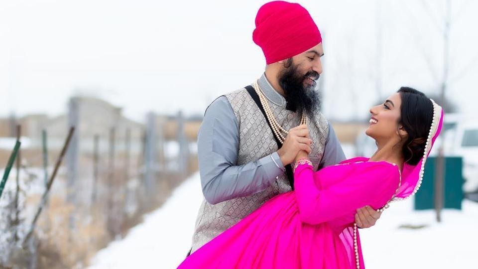 Canada S Ndp Leader Jagmeet Singh To Marry Fashion Designer World News Hindustan Times