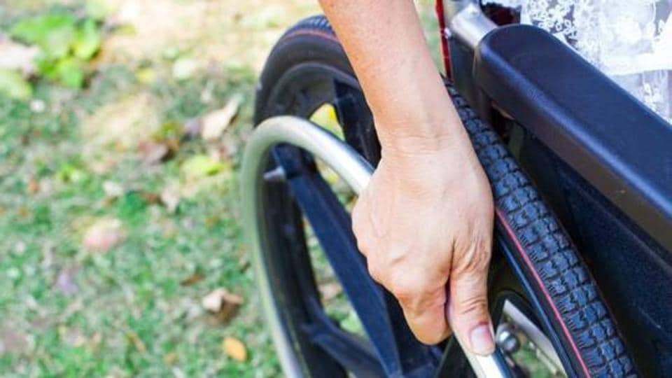 Wheelchair-bound passenger,Air India,wheelchair
