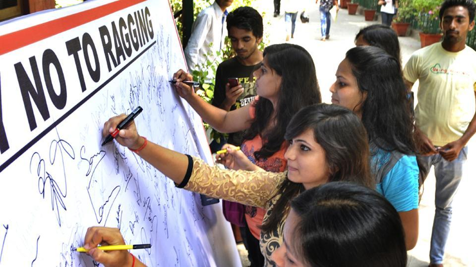 ragging in college campus Anti-ragging committee anti-ragging committee  the committee member list has been included in the prospectus of the college with  in the campus including.