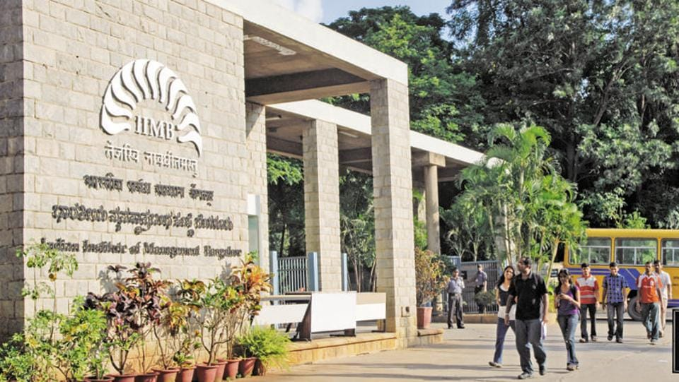 A view of IIM Bangalore.