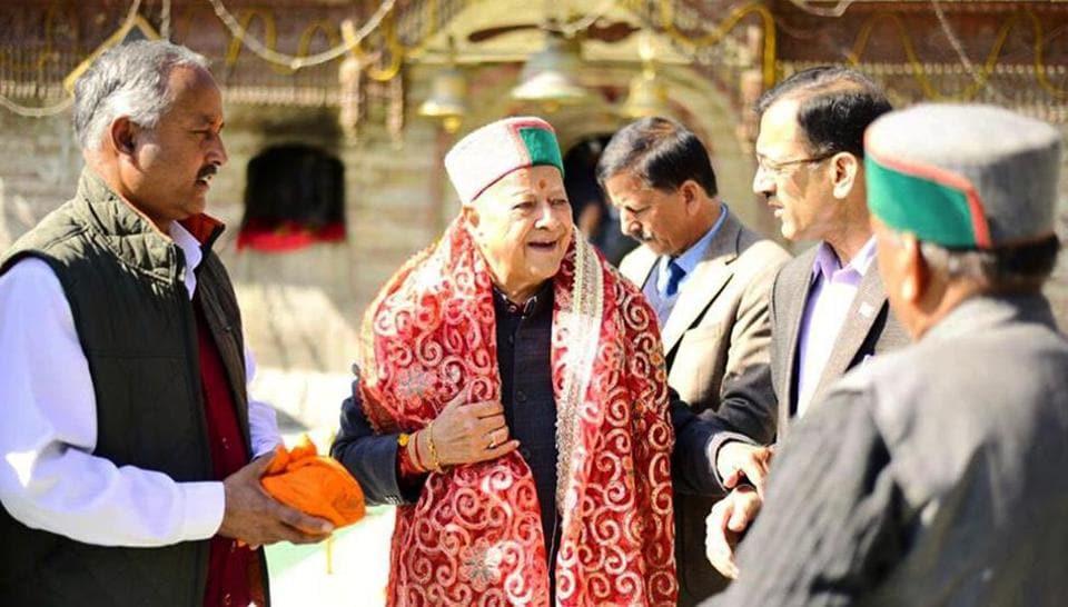 Himachal Pradesh Election Results 2017,Virbhadra Singh,Congress