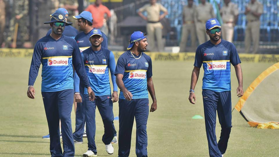 Sri lanka's players would be aiming to salvage something positive in the Twenty20 series against India starting in Cuttack. (PTI)