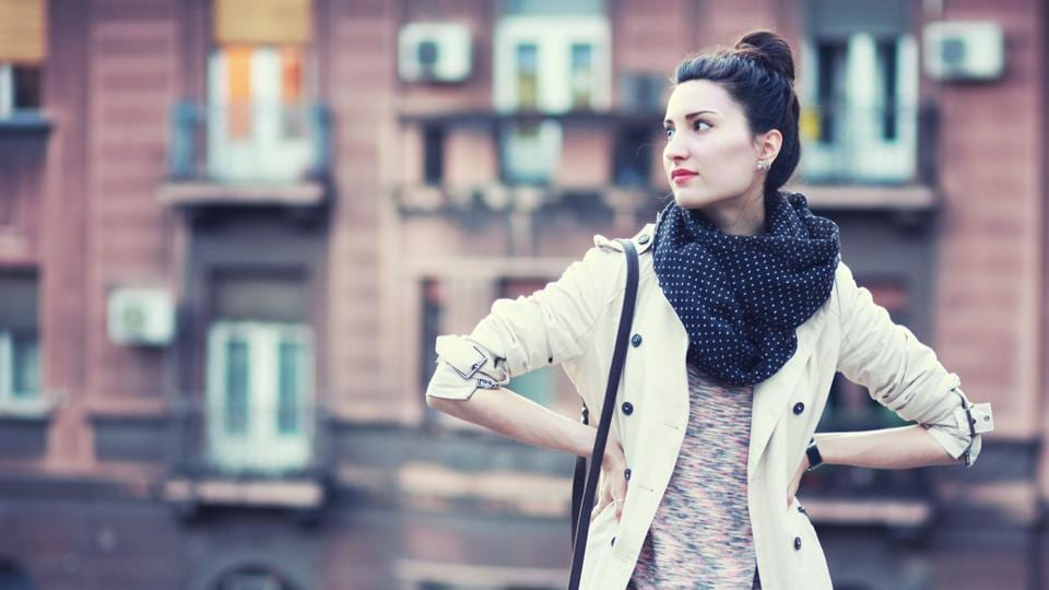 A stylish trench coat is a must have in your winter wardrobe.