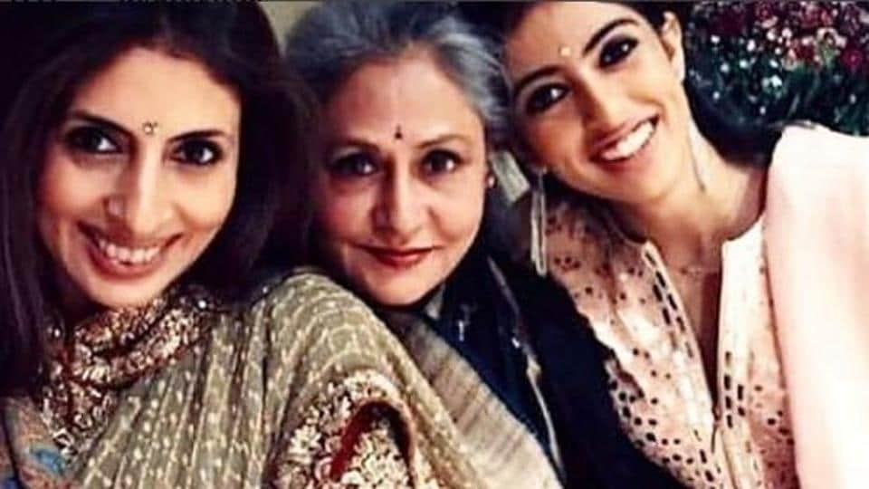 The women of the Bachchan family.
