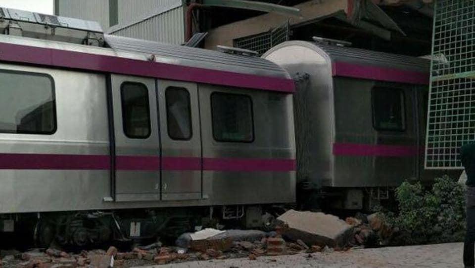 Magenta line,Delhi Metro,Magenta Line mishap