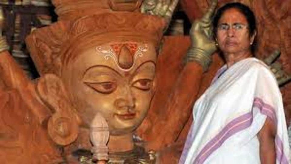 Chief minister Mamata Banerjee has highlighted her association with Durga Puja, Bengal's most popular festival, to argue that the allegations of her appeasement of the Muslim community is unfounded.