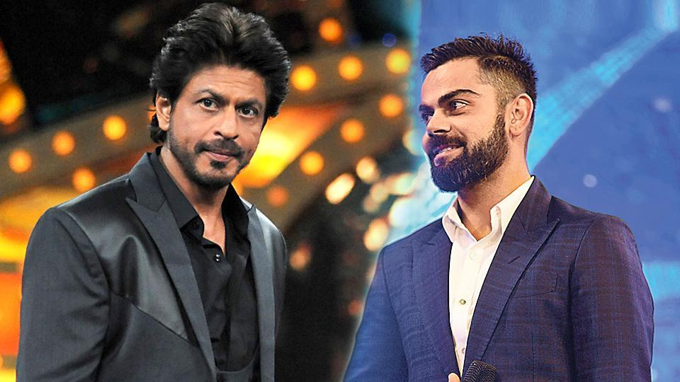 Indian cricket team captain Virat Kohli has dethroned Bollywood superstar Shah Rukh Khan to become the most valuable celebrity brand in the country.