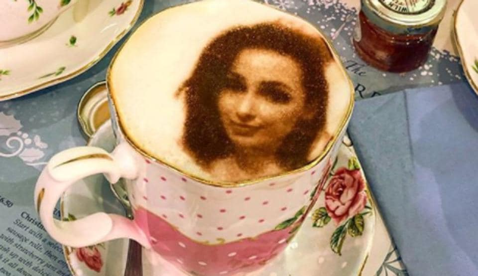 """Your image is uploaded to the """"Cino"""" machine while the drink is placed in position. The picture is then scanned and reproduced onto the froth using a flavourless food colouring."""