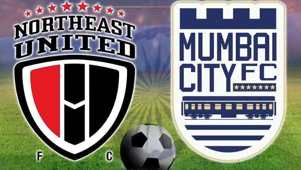 ISL,NorthEast United FC vs Mumbai City FC,live score