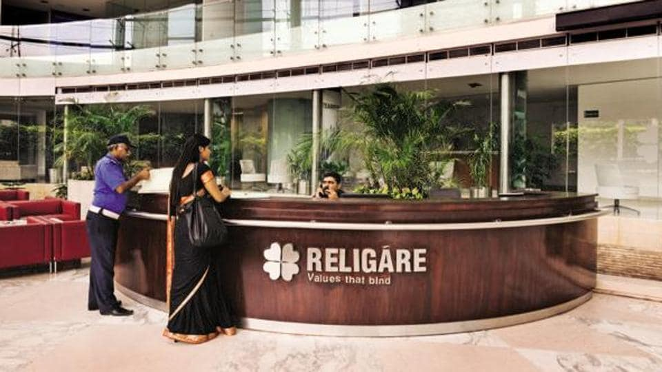 At 10:49am, Edelweiss Financial Services Ltd was at Rs296.65, up 1.85%, while Religare Enterprises Ltd was at Rs73.15, up 4.95% on the BSE.