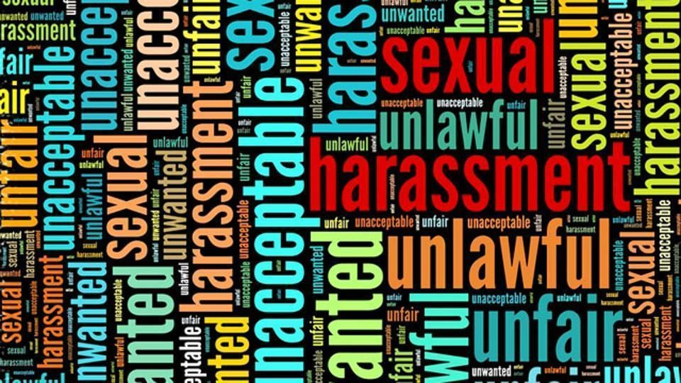 sexual harassment,harassment,Two held