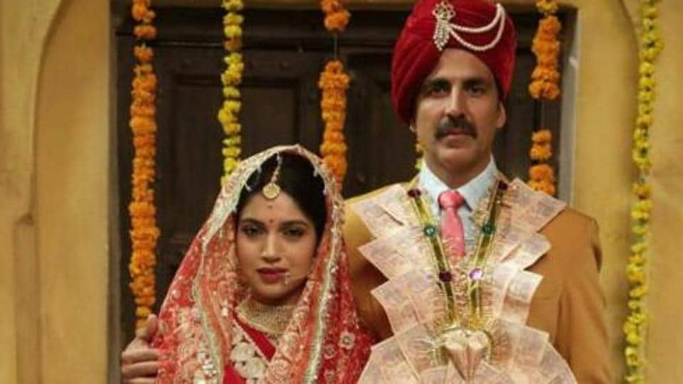 Akshay Kumar and Bhumi Pednekar play lead roles in Toilet Ek Prem Katha.