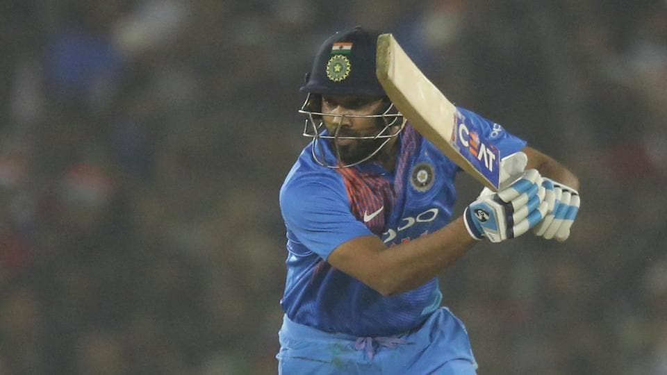 Rohit Sharma and KL Rahul got India off to a good start before the stand-in captain fell to Angelo Mathews in the fifth over.  (BCCI )