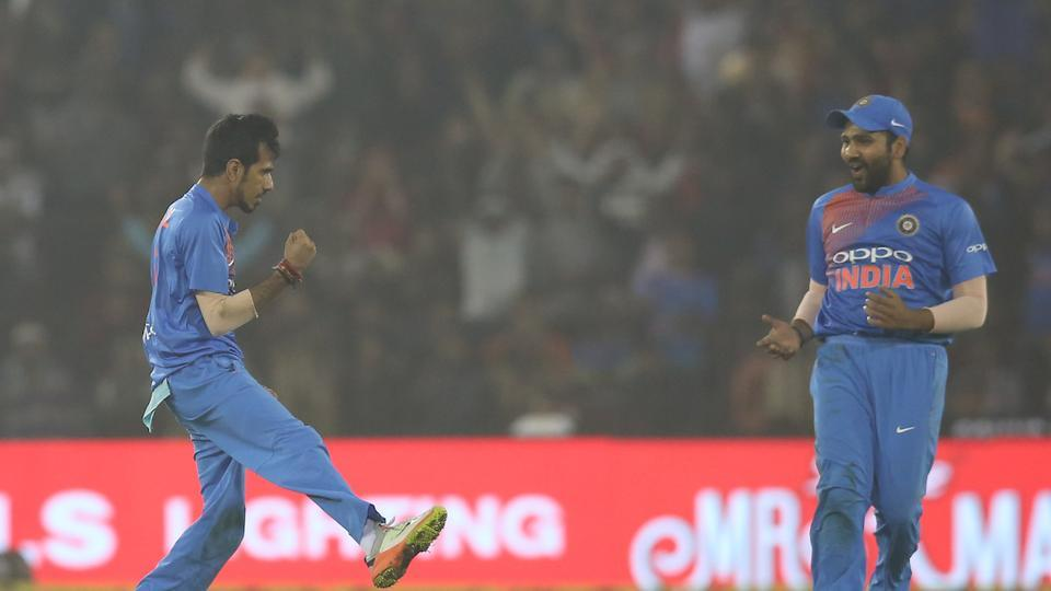Chahal returned in the eight over and dismissed former Sri Lanka skipper Angelo Mathews, caught and bowled. (BCCI )
