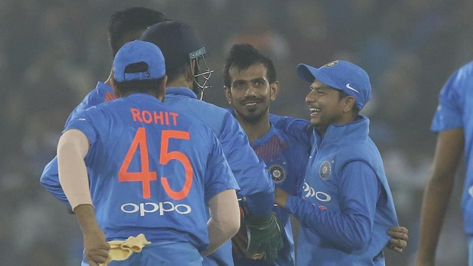 Yuzvendra Chahal picked up 4/23 as India crushed Sri Lanka by a record margin of 93 runs to go 1-0 up in Cuttack. Get highlights of India vs Sri Lanka T20 here.
