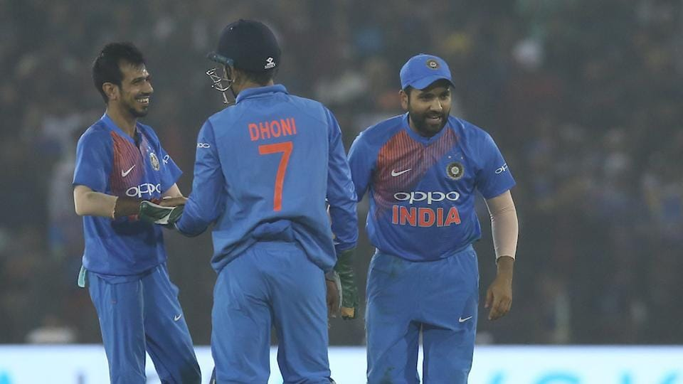 Riding on KL Rahul's 61 and Yuzvendra Chahal's 4/23, India thrashed Sri Lanka by 93 runs to go 1-0 up in the three-T20 series. (BCCI )
