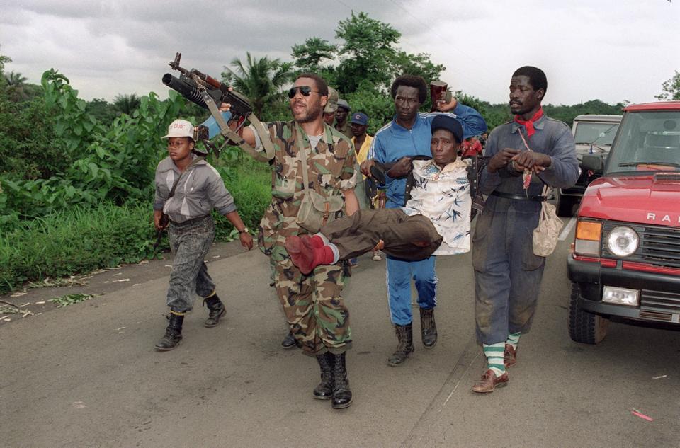 Liberia,Charles Taylor,George Weah