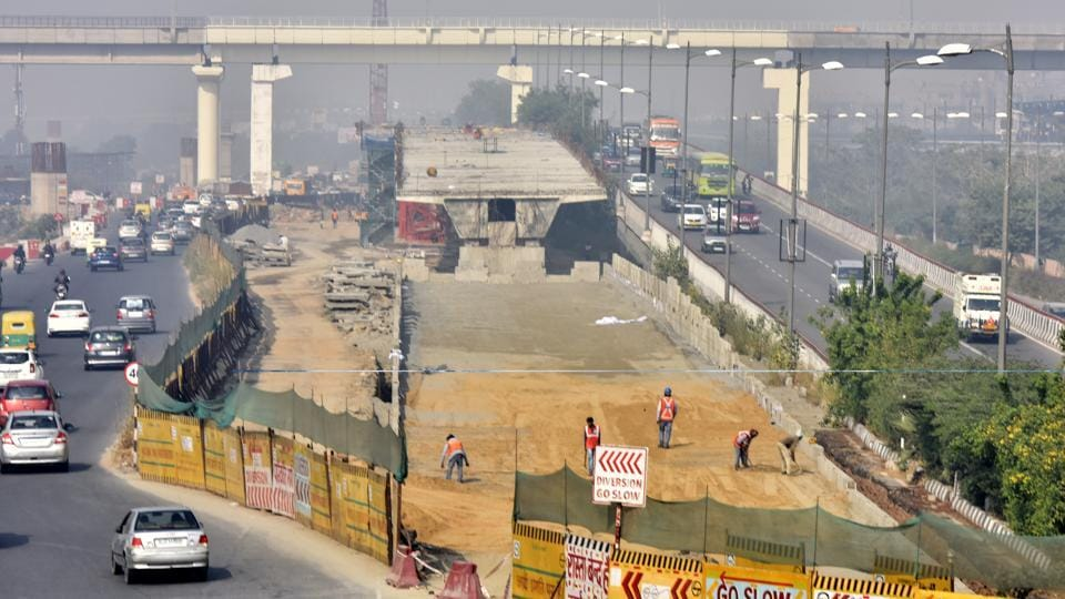 The 800-metre flyover was scheduled to open for traffic in September this year but it was delayed because the authorities could not get the forest department's nod to remove trees on the stretch.