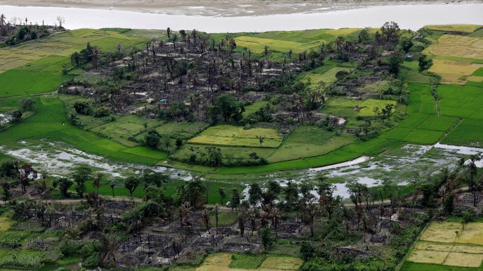 Myanmar,Rakhine,Rohingyas