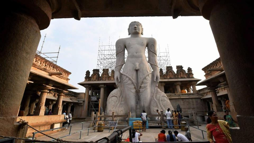 The anointment of this gigantic statue carved out of a single block of granite, while slated for February 17 to 26 has authorities anticipating an extension running a few more months for the public, going by past attendance at the event. (PTI)