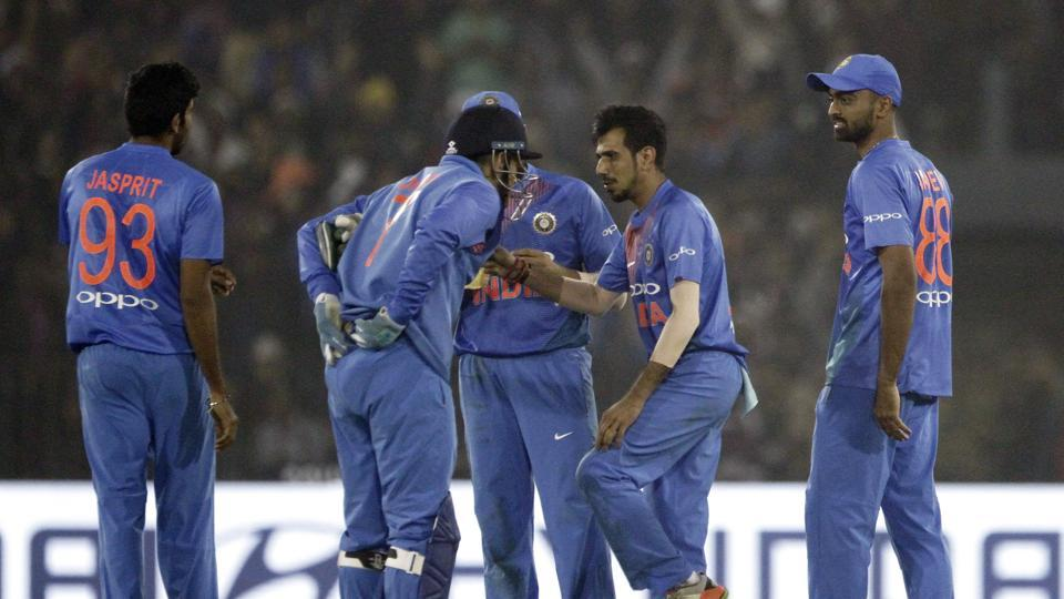 Yuzvendra Chahal's 4/23 helped India achieve a record 93-run victory against Sri Lanka in Cuttack and go 1-0 up in the three-match series.