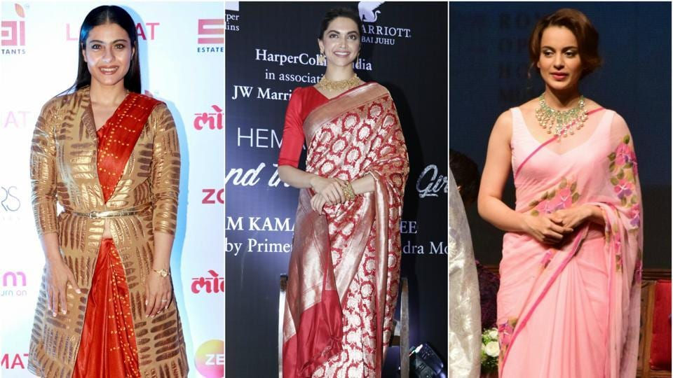 World Saree Day,Deepika Padukone,Sonam Kapoor