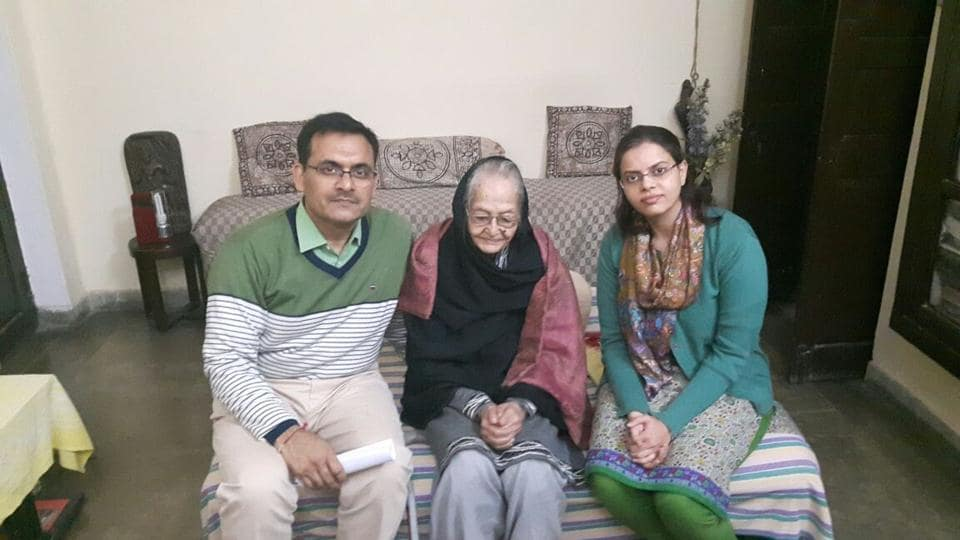 Lucknow's oldest pensioner,Bindeshwar Prasad Joshi,IAS officer