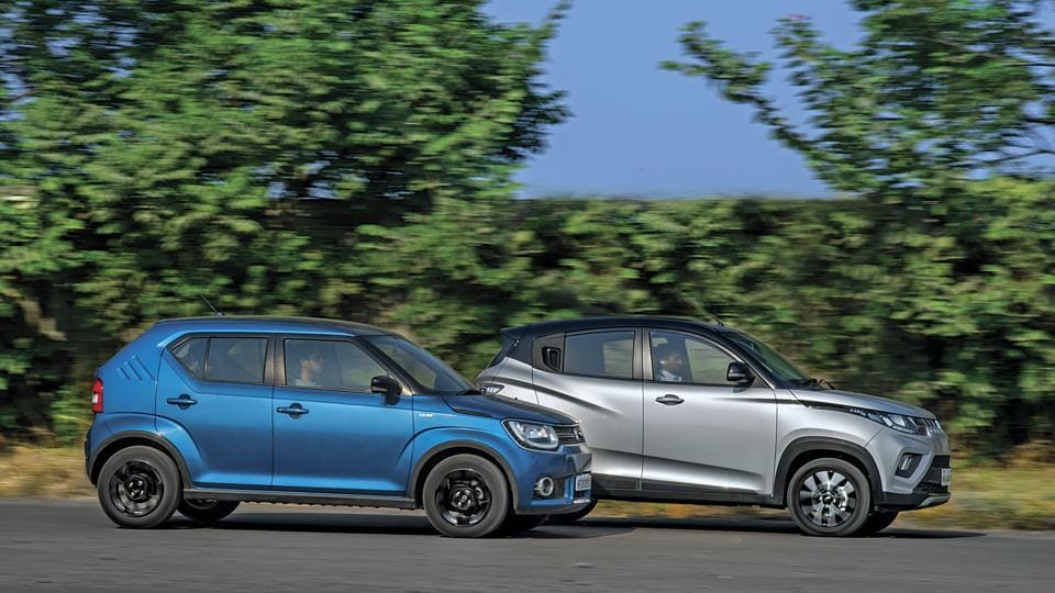 At Rs 7.54 lakh, Maruti's Ignis is about Rs 12,000 costlier than Mahindra's KUV 100 NXT.