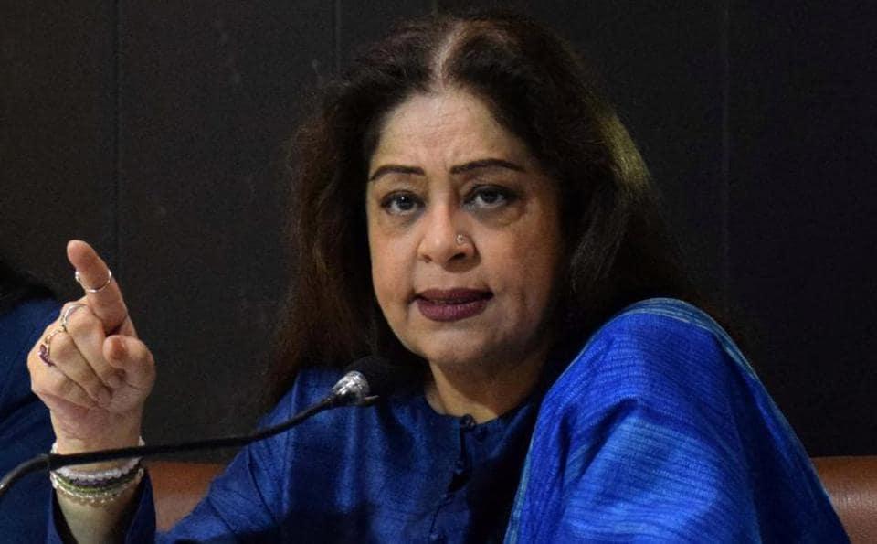 member of Parliament from Chandigarh Kirron Kher