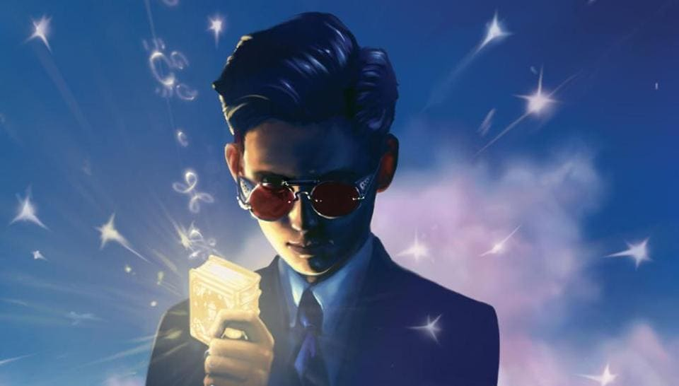 The cover of the first Artemis Fowl novel.