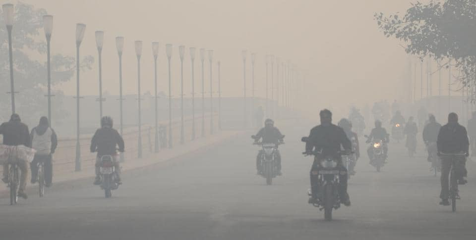 The Met department said increase in humidity level may have led to fog-like situation in Lucknow.