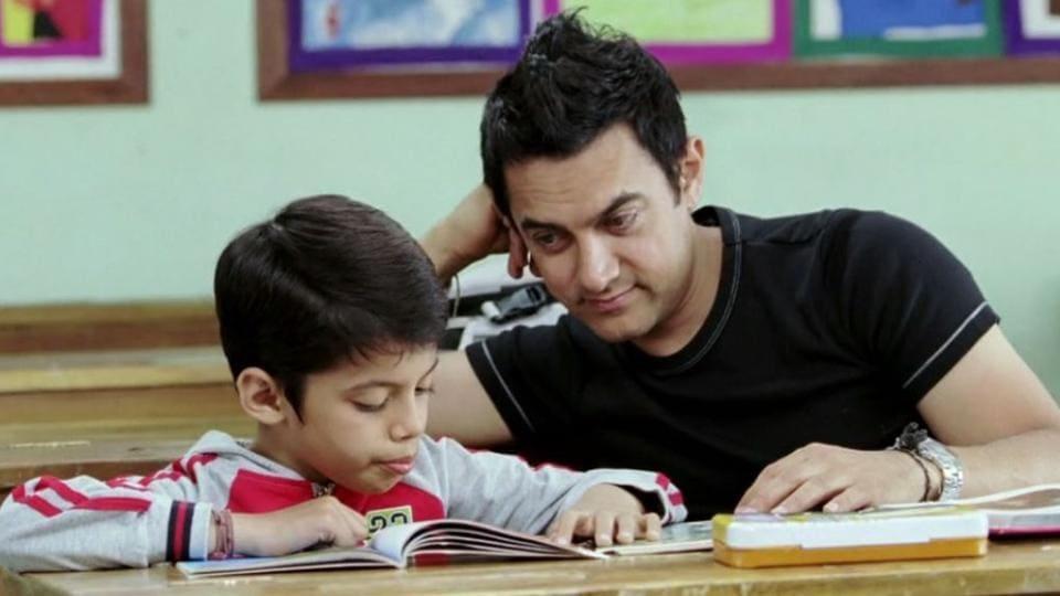Darsheel Safary,Aamir Khan,Taare Zameen Par