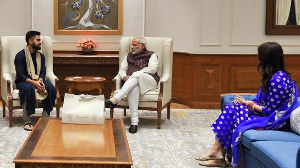 Virat Kohli,Anushka Sharma,Prime Minister