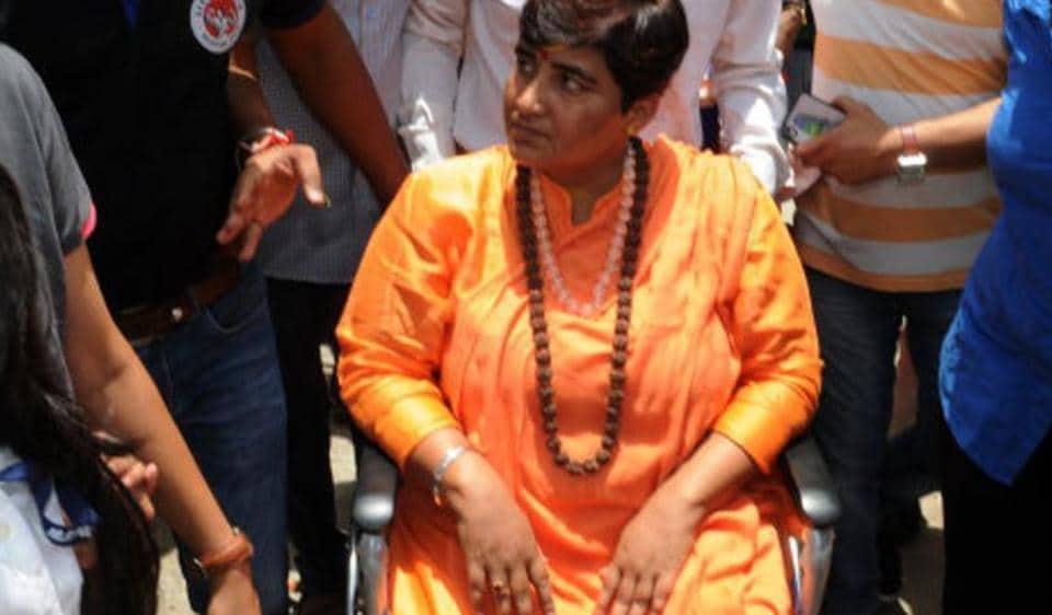 Image result for Meet Sadhvi Pragya, honourable Malegaon blast accused, joins BJP; who is she?