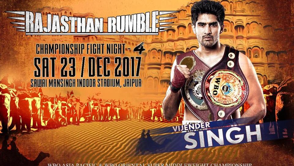 Vijender Singh,WBO Oriental & Asia Pacific Super middleweight title,pro boxing