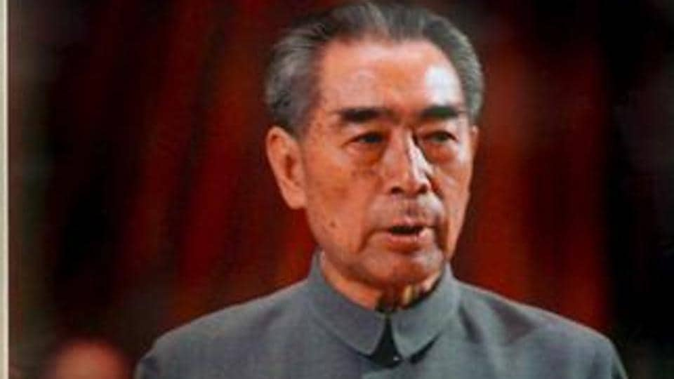 After his talks with prime minister Jawaharlal Nehru i 1960 failed to resolve differences, Chinese premier Zhou Enlai  held a late night press conference in New Delhi.