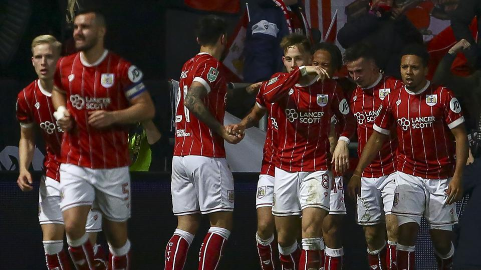 Bristol City have knocked Manchester United out of the League Cup.