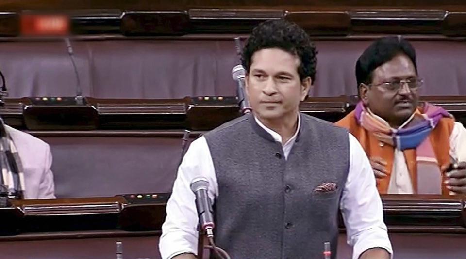 Sachin Tendulkar,Rajya Sabha,Sachin Tendulkar speech