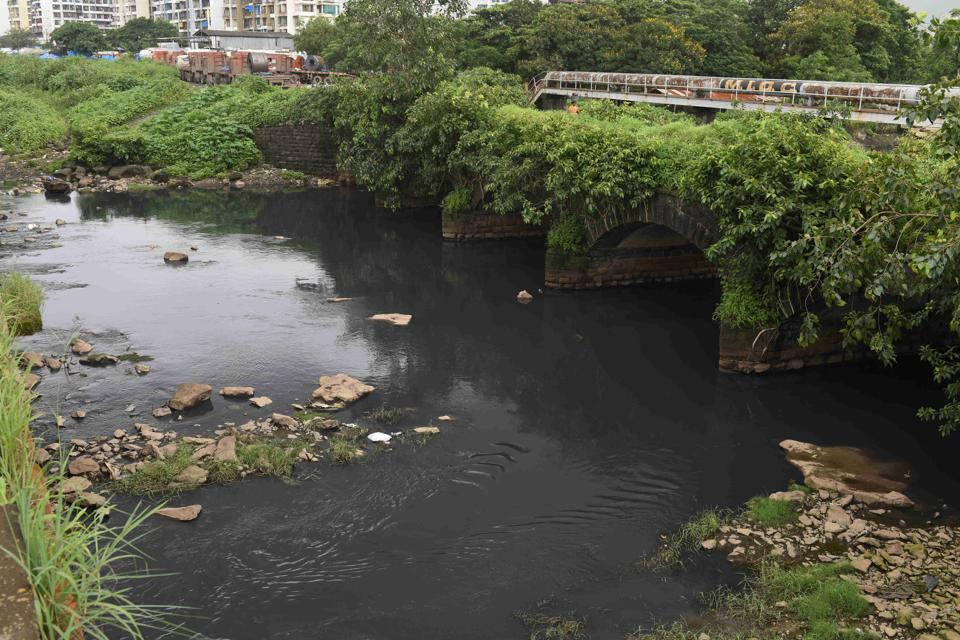 Kasadi river at Taloja industrial area in Navi Mumbai is one of the rivers to rank the lowest in terms of Water Quality Index.
