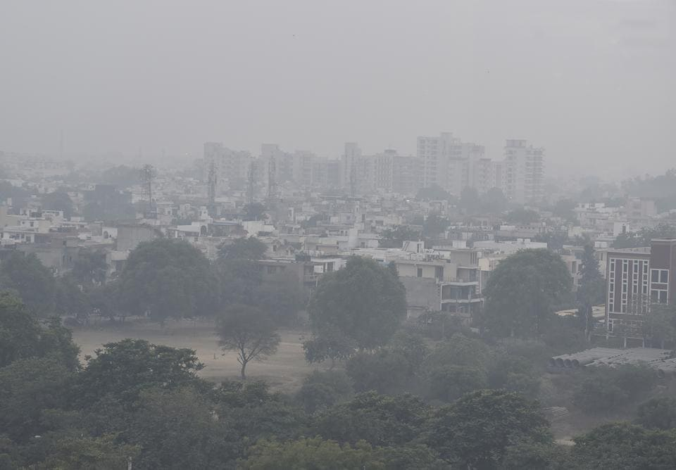 gurgaon grap measures likely if city air quality doesn t